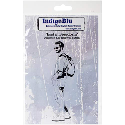 IndigoBlu selbst montiert Stempel 12,7cm x 4-inch-Lost in benidom