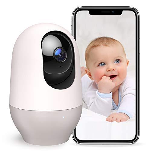 Nooie Baby Monitor WiFi Dog Pet Camera Indoor,360-degree Wireless IP...