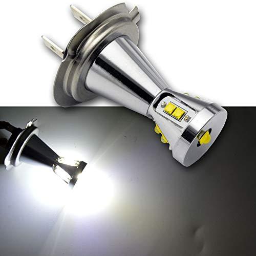 Ruiandsion H7 LED Fog Ampoule DC 12-24 45W CREE 9SMD 6000K LED blanche Ampoule de rechange pour la voiture Phares antibrouillard Feux de jour Lumière (pack de 2)