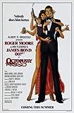 OCTOPUSSY - James Bond – Film Poster Plakat Drucken Bild