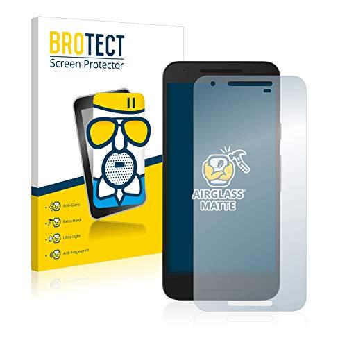 BROTECT Entspiegelungs-Panzerglasfolie kompatibel mit LG Nexus 5X - Anti-Reflex Panzerglas Schutz-Folie Matt