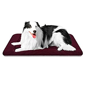 Hero Dog Large Dog Bed Mat Crate Pad Washable Anti Slip Pet Sleeping Beds Soft Dog Kennel Mattress for Large Medium Small Pets