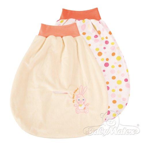 Baby Matex baby rugzak/slaapzak/autostoel strampelzak - verschillende kleuren ecru/beige