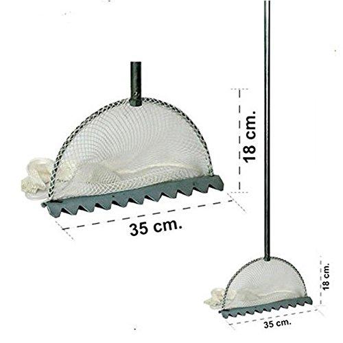 10530 Tellinaro Pesca Mezzaluna Con Rete E Manico Pesca Mare Spiaggia Telli Feug (1000060670)