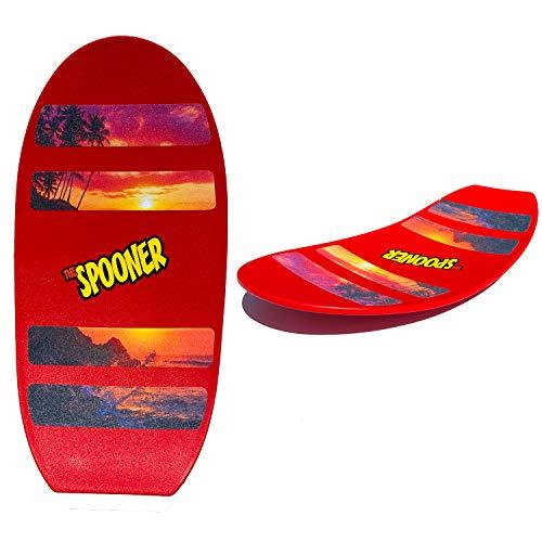 Cloud B- Planche Spooner pour développer l'équilibre, 5512767, Rouge