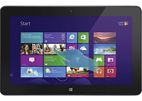 "Dell Venue 11 Pro 7000 Series Tablet PC, 10.8"" Full HD IPS Touchscreen Display, 1.60 GHz Intel Core i5-4300Y, 8GB Memory, 256GB SSD, Windows 8.1 Professional (Renewed)"