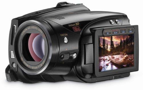 Canon LEGRIA HV40 HD-Camcorder (MiniDV, 10-fach opt. Zoom, 6,9cm (2,7 Zoll) Display, Bildstabilisator)