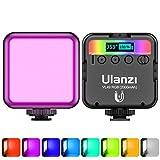 ULANZI Luz de Relleno RGB Fotografía Vídeo, Luz de LED Cámara 60 Perlas de Lámpara Iluminación Fotografía de Color...