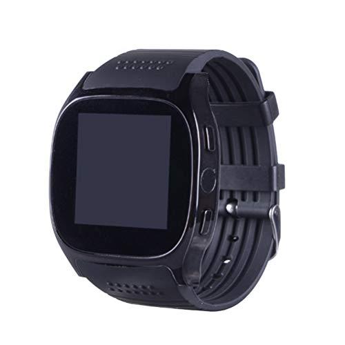 Hemobllo Smartwatch,Smart Watch T8M 1,54 Zoll Smart Armbanduhr Schrittzähler Sport Tracker (schwarz)