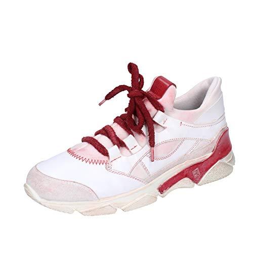 MOMA Sneakers Damen Leder weiß 37 EU