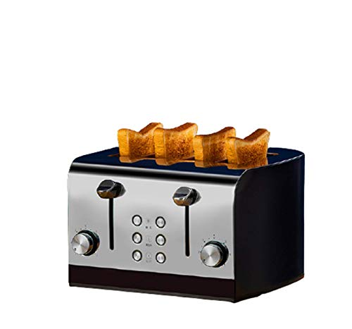 L&B-MR Tostadora De 4 Rebanadas, Toaster, Maquina De...