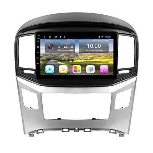 TIANDAO Android Autoradio Radio Double DIN Sat Nav para Hyundai H1 2015-2018 Navegación GPS 2.5D Pantalla táctil Reproductor Multimedia FM Am DVD Video Receiver(Color:WiFi 1G+16G)