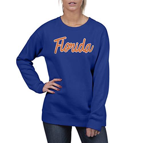 Top of the World Florida Gators Women's Essential Crewneck Fleece Sweatshirt, Large