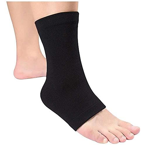 YuKeShop Tobillo de la envoltura del tobillo, elástico de la ayuda respirable del soporte del pie del guardia de los esguinces de lesión
