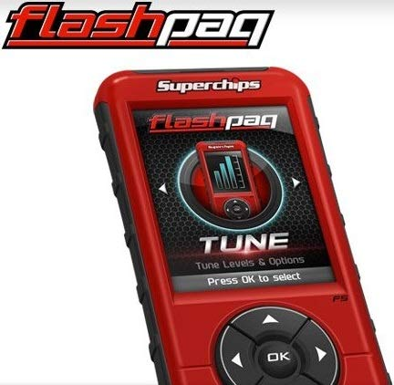 NEW SUPERCHIPS FLASHPAQ F5 IN-CAB TUNER,HEMI GASOLINE & 5.9L,6.7L CUMMINS DIESEL,COMPATIBLE WITH 1998-2014 DODGE RAM & CHRYSLER VEHICLES