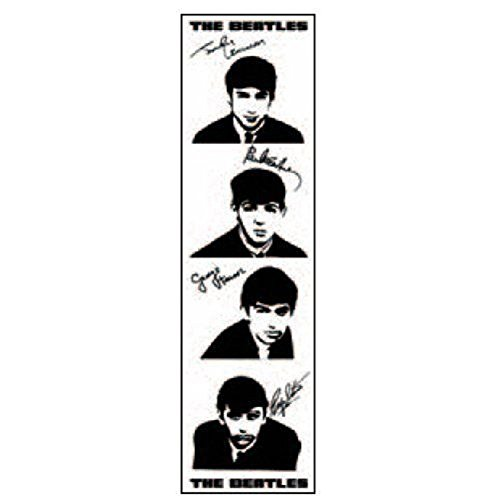 Beatles - Bookmark Signature (in One Size)