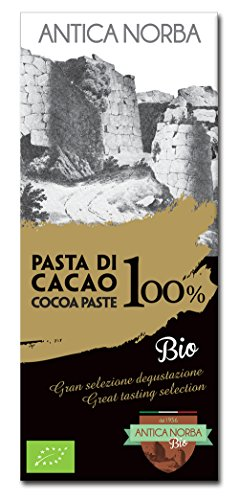 Tavoletta bio di pasta di cacao 100% 50g