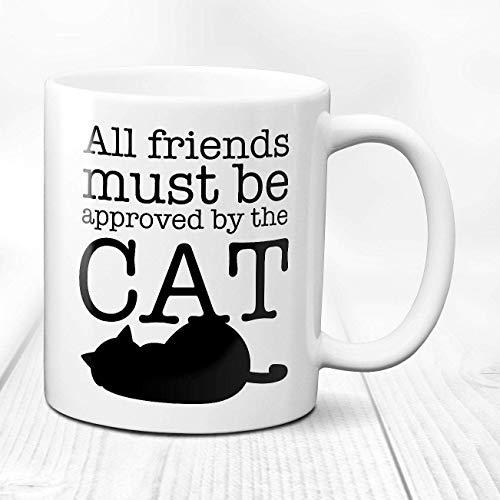Taza personalizada Taza del gato Taza personalizada del gato Regalo del amante del gato Taza con cita del gato Taza de las patas Taza del regalo del amante del gato Taza del gato negro Taza de la mamá
