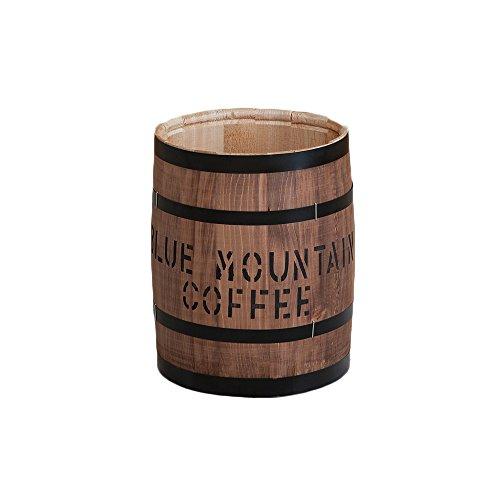 収納 豆サイズ 日本製 ヒノキ 檜 天然木 樽 木箱 木樽 小物入れ 収納 ゴミ箱 国産/ブラウン