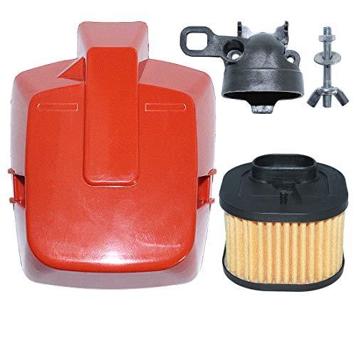 AUMEL Kit de Cubierta de Filtro de Aire Superior HD para Husqvarna 362, 362 Special, 371, 372, 372 X-Torq, 372XPW Piezas de Motosierra Reemplace 503 81 80-04.