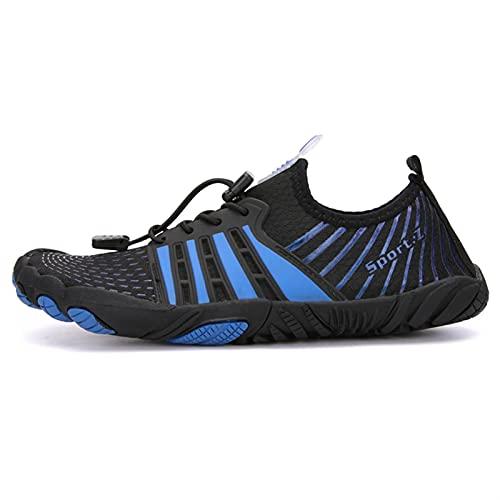 Zapatos de vadeo Upstream para hombre, buceo, natación, deportes al aire libre, transpirables, para playa, zapatos para vadear, zapatillas para hombre, color verde claro, talla de zapato: 4.5