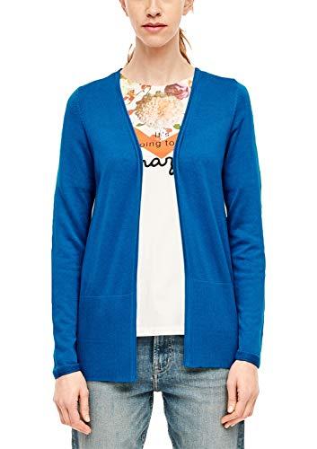 s.Oliver 14.912.64.2740 Chaqueta Punto, Azul (Royal Blue 5525), 42 (Talla del Fabricante: 40) para Mujer