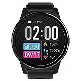 Reloj Inteligente para Hombres y Mujeres Reloj de Pulsera Digital a Prueba de Agua Rastreador de Ejercicios con Monitor de Ritmo cardíaco y sueño Calorías Cronómetro para Deportes al Aire Libre