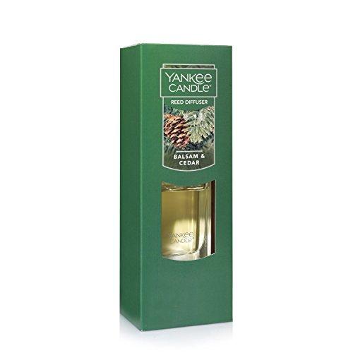 Yankee Candle Reed Diffuser, Balsam & Cedar