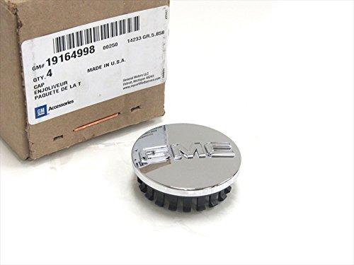 10-15 GMC Canyon Wheel Hub Center Cap Replacement Single (1) All Chrome OEM NEW 19164998
