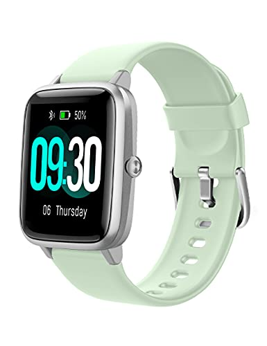 Willful Smartwatch,Reloj Inteligente con Pulsómetro,Cronómetros,Calorías,Monitor de Sueño,Podómetro Monitores de Actividad Impermeable IP68 Smartwatch Hombre Reloj Deportivo para Android iOS