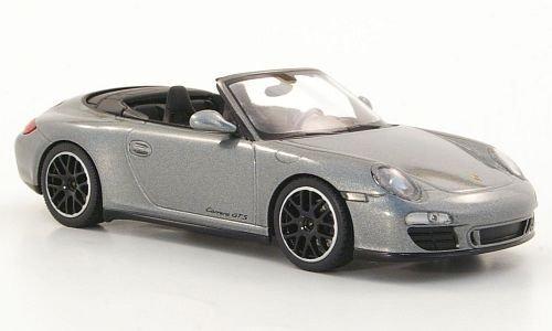 Porsche 911 Carrera GTS (997 II) Cabrio, met.-grau, 2011, Modellauto, Fertigmodell, Minichamps 1:43