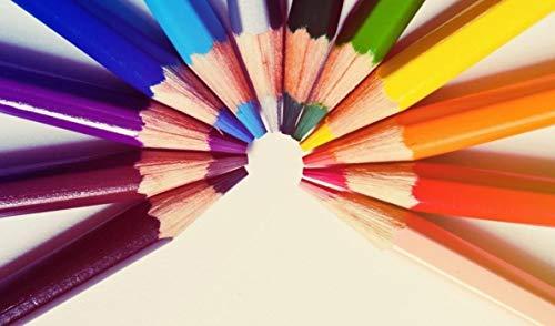HEE WAG Nonmainstream Bunte Bleistifte Malen Nach Zahlen DIY Unique