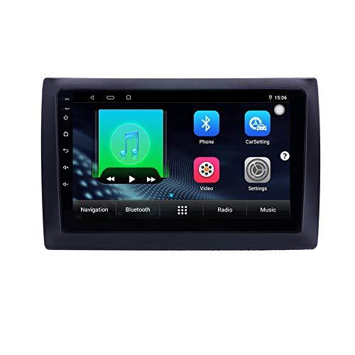 XISEDO Android Autoradio per Fiat Stilo 2002-2010 In-dash Car Radio 9 Pollici Car Stereo Navigatore GPS con Schermo di Tocco Nessun lettore DVD (STILO)