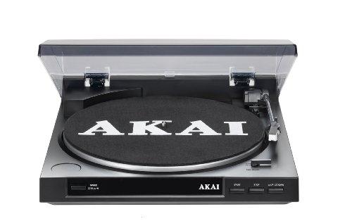 Akai ATT01U Plattenspieler (1-er Stück, 295mm, USB 2.0)