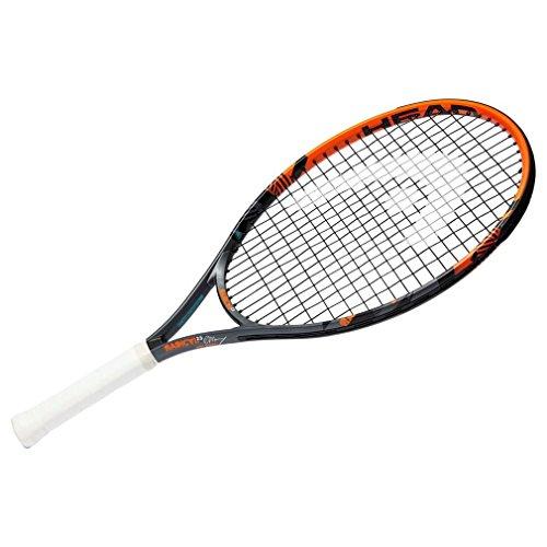 """HEAD Kinder Tennisschläger Radical, Schwarz/Orange, 23"""""""