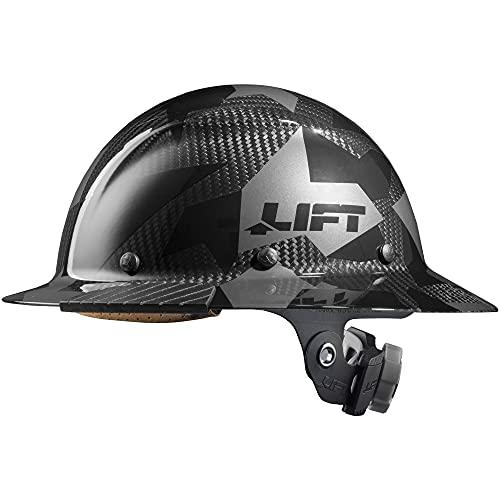 LIFT Safety HDC-20CK Safety DAX CARBON FIBER FULL BRIM (BLACK CAMO)