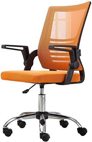 Reception Chairs Computer Chair Task Swivel Executive Office Chair Height Adjustable Ergonomic Swivel Computer Desk Chair with Adjustable Armrest High Back Large Size Fabric Gaming ChairAthletic Chair