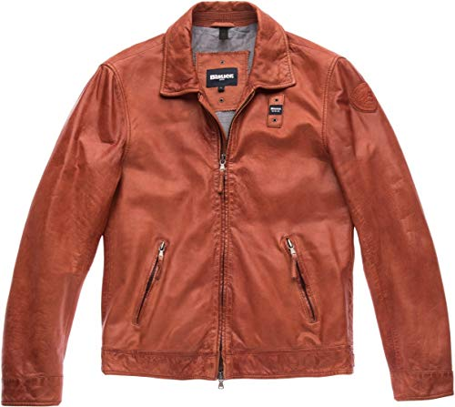 Blauer USA Jackson Giacca in pelle Rot