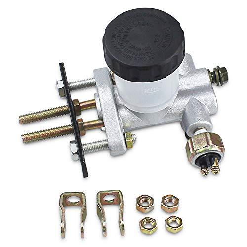 SOLLON Hydraulic Brake Master Cylinder for 90cc 110cc 125cc 150cc 200cc 250cc Go Kart Buggy Sunl BMS Kandi Roketa Kazuma Kinroad ATV