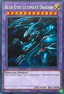 yu-gi-oh Blue-Eyes Ultimate Dragon - LCKC-EN057 - Secret Rare - 1st Edition - Legendary Collection Kaiba Mega Pack (1st Edition)