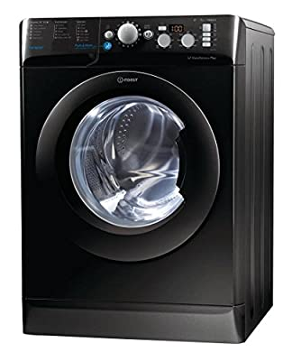 Indesit BWD71453KUK 7kg 1400rpm Freestanding Washing Machine - Black