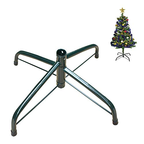 EasyBravo Pieds de Sapin de Noël pour Arbres de 120-210 cm,Convient au Poteau de 1,0-3,2 cm(Nouveau Design)