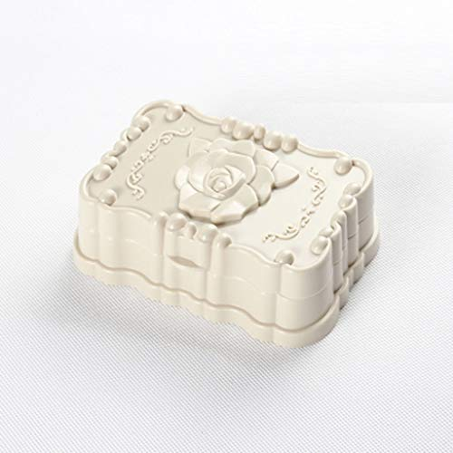 ZAIZAI Caja de jabón portátil de la Caja de la Caja de la Caja de la Caja de la Caja de Lavado de contenedores para el hogar Accesorios de baño para el hogar Caja de Almacenamiento de Plato de jabón