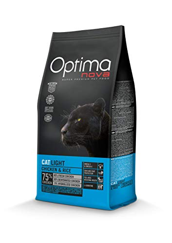 Optima nova Cat Adult Light Chicken & Rice 8000 g