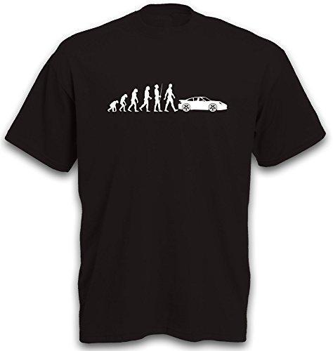 Preisvergleich Produktbild T-Shirt Evolution 911 Sportwagen Youngtimer Auto PKW Gr. M