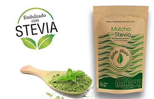 Matcha con Stevia 50g