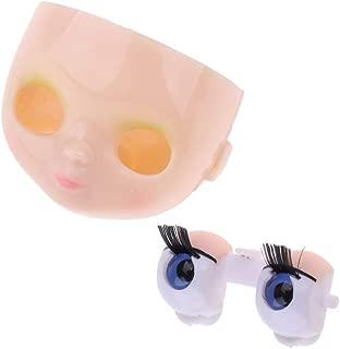 CUTICATE Doll Makeup Faceplate Mechanism Eyeball DIY Custom for Blythe Dolls Accs
