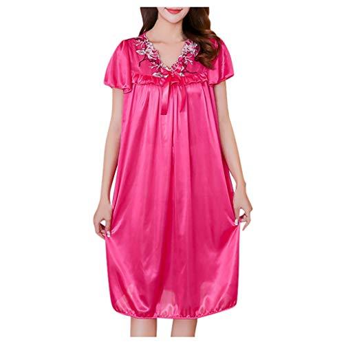 Vrouwen Sexy Babydoll Lingerie Dames Korte mouw Nachtkleding Nachtkleding Zomer Jurk Lady Mooie Pyjama Kant Jurk Ondergoed Set Chemise Slaapmode Nacht Jurk cadeau