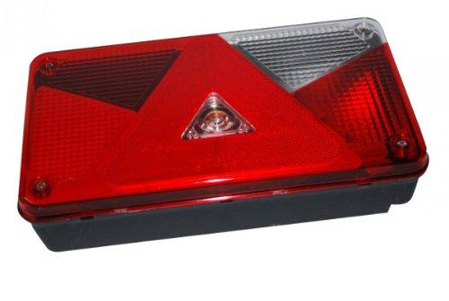 Aspöck Mehrfunktionsleuchte Multipoint V, rechts - 102.42.49- verkabelt und montierten Glühbirnen -