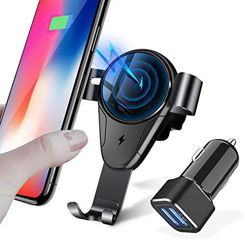 Fast Wireless Charger auto, smartphone houder fiets 10W Qi auto draadloze oplader voor iPhone XS Max snel draadloos opladen autotelefoonhouder